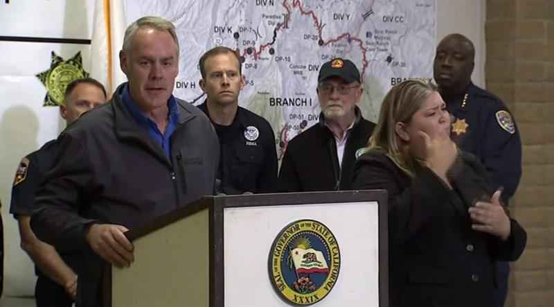 Interior Secretary Ryan Zinke is blaming what he calls