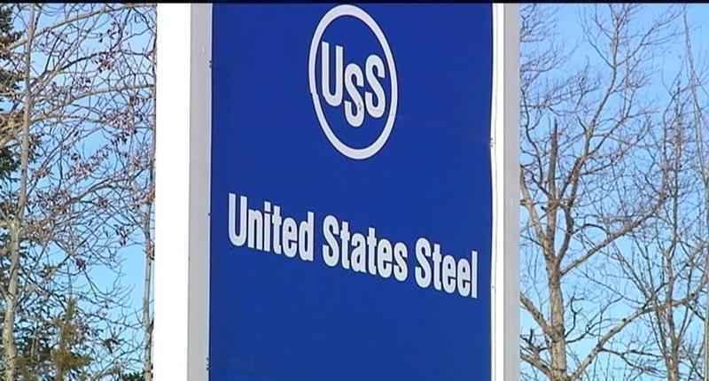 FILE - U.S. Steel has been cited for a foamy discharge in Indiana.