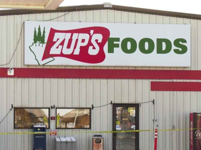 Zup's in Cook offering delivery services, while they rebuild from last month's fire.