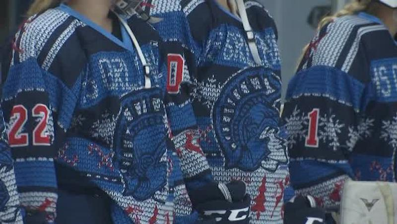 Superior's 'Ugly Jerseys' from a game in 2017.