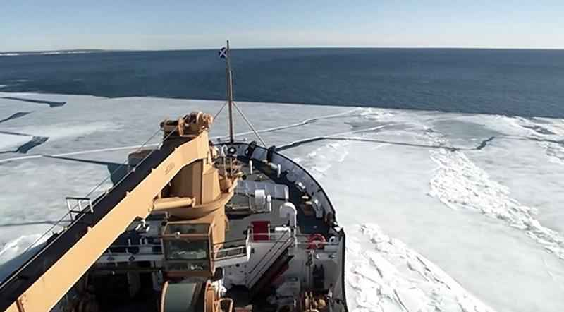 An annual ice-breaking effort is starting on waterways in and around northern Michigan and the Upper Peninsula. The operation commenced Monday�in response to expanded ice growth in commercial ports along the UP.