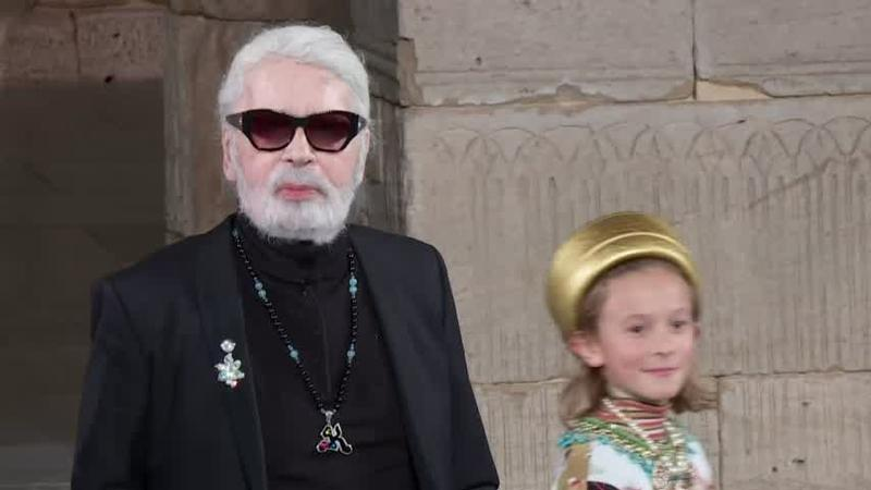 FILE - Iconic fashion designer Karl Lagerfeld has died.