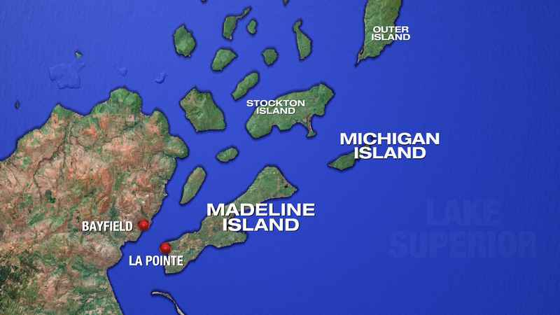 Madeline Island Ice Road Opens to Public | www.WDIO.com on cable map, osceola map, superior map, oconomowoc map, winter map, danbury map, big bay town park map, ashland map, apostle islands map, green lake map, isle royale map, langlade county map, monroe map, whitewater map, big chetac lake map, wausau map, sparta map, madison map, great lakes map, rice lake map,