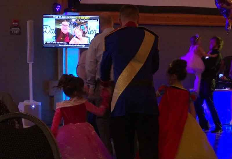 Dads and daughters danced the night away at the 5th annual Daddy-Daughter Princess Ball.