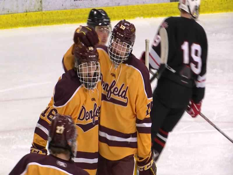 Duluth Denfeld advances to the Section 7A semifinal game.