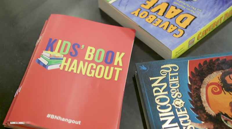 Head to Barnes & Noble for a Kid's Book Hangout this Saturday.