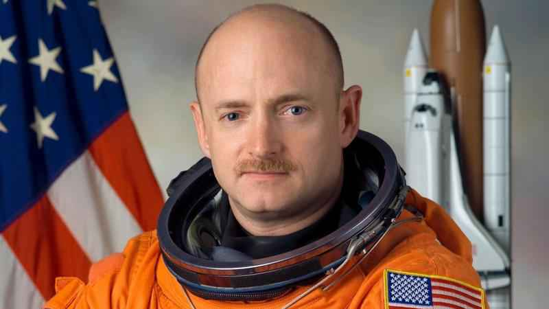 Retired astronaut Mark Kelly says he's running to finish John McCain's term in the U.S. Senate. Kelly announced his plans Tuesday  in a video message.