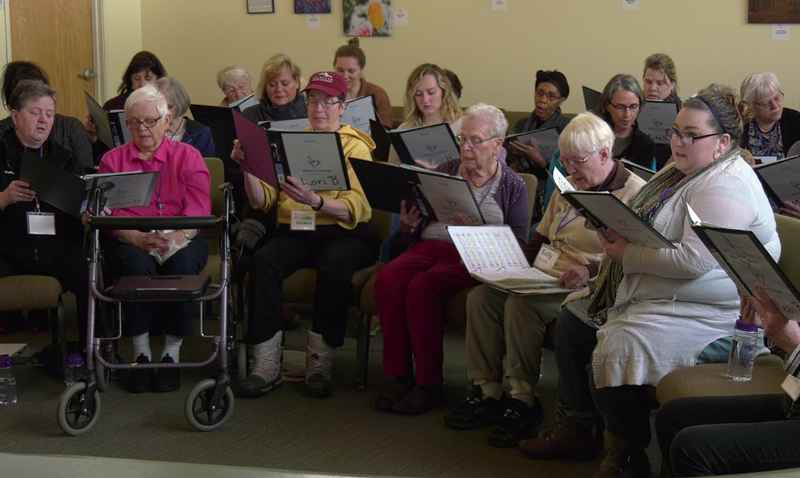The Victory Chorus brings people together to create joy through song.