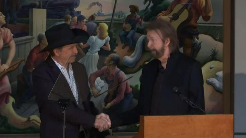 Brooks and Dunn are among the new members of the Country Music Hall of Fame.