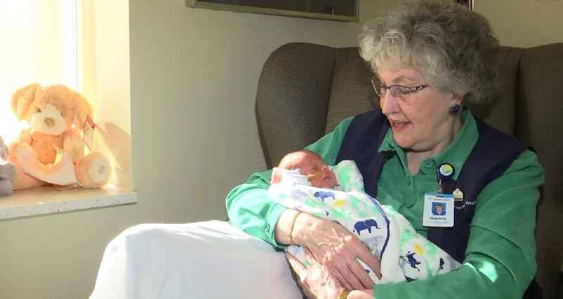 Grandma Jo Spreads Love and Cuddles in Essentia's NICU