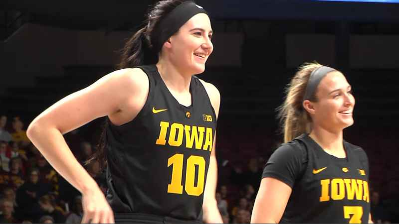 Megan Gustafson of Iowa