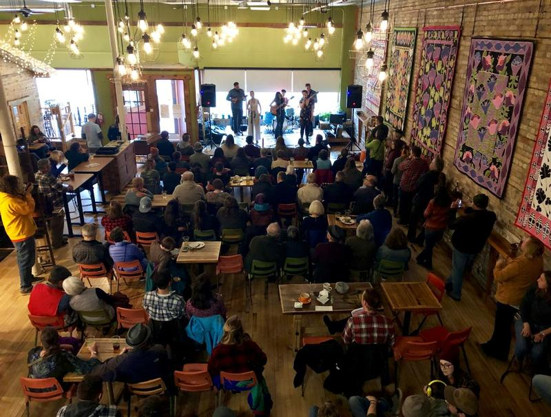 NorShore Summit plays the Duluth Folk School Monday evening.