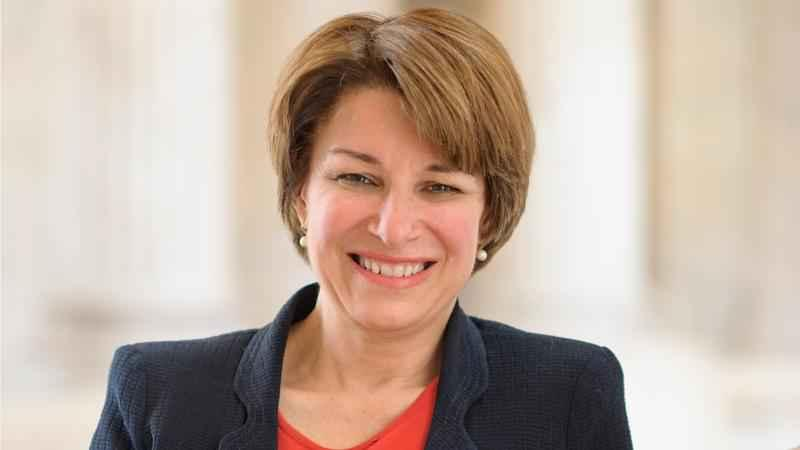 Sen. Amy Klobuchar (D-Minn.) ranks seventh among Democratic presidential candidates in Wisconsin.
