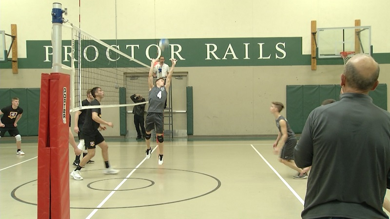 Proctor-Hermantown hosts first home volleyball match of the season.