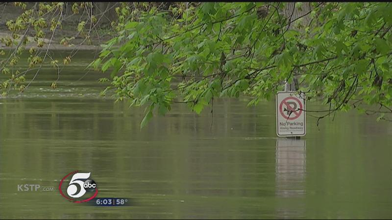 Fort Snelling State Park remains closed due to flooding.