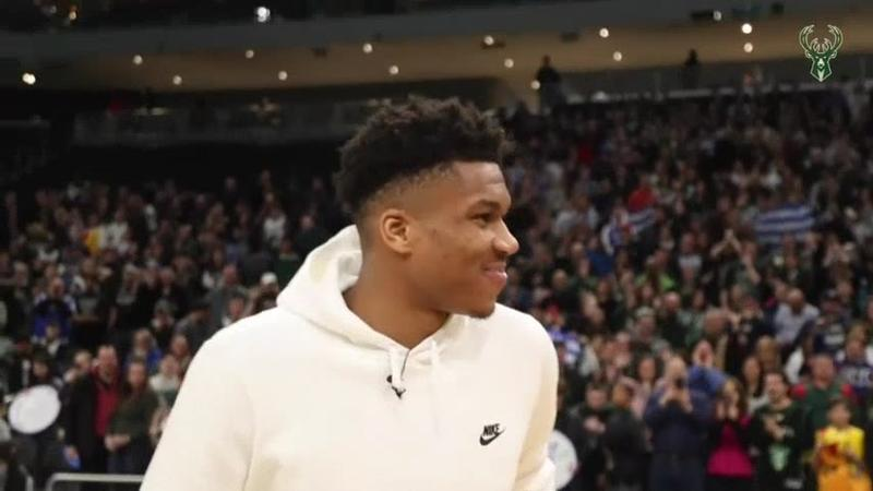 Giannis Antetokounmpo's success has instilled pride in Milwaukee's Greek community.