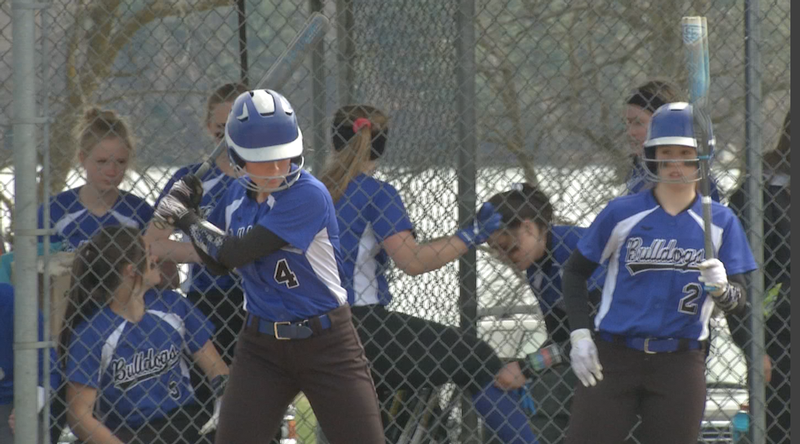Carlton softball stays unbeaten with a win over Cherry.
