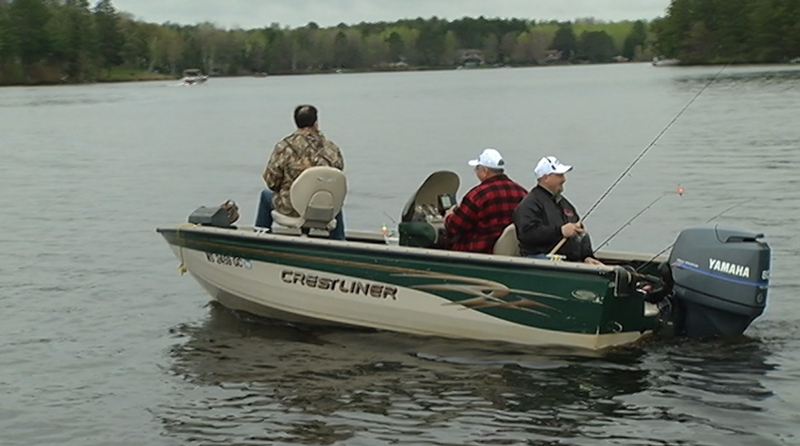 Wisconsin fishing opener nears despite lingering ice on local lakes.