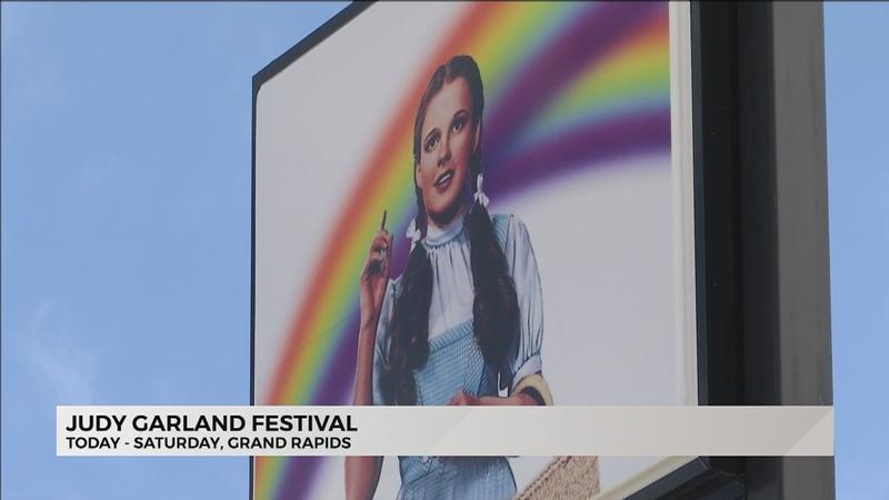 Judy Garland Museum celebrating the annual Judy Garland Festival.