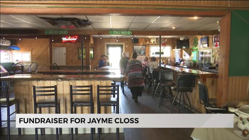 A restaurant in South Range hosted a fundraiser Saturday to support Jayme Closs.