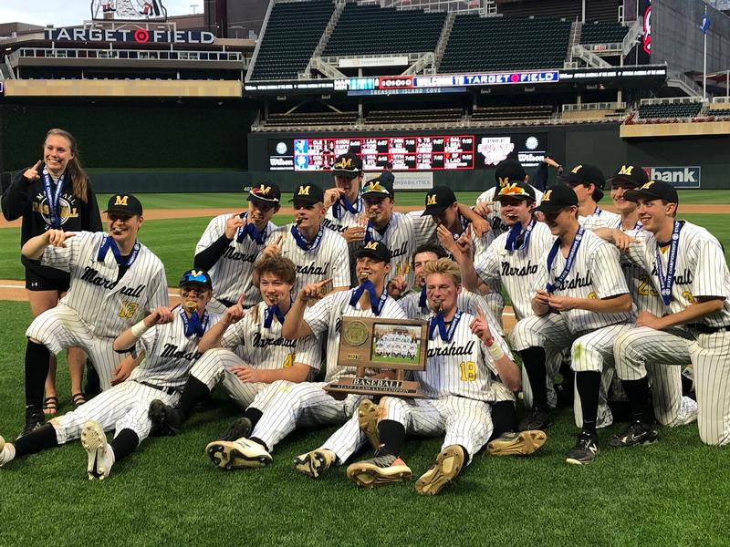 Duluth Marshall Wins the State AA Baseball Championship.