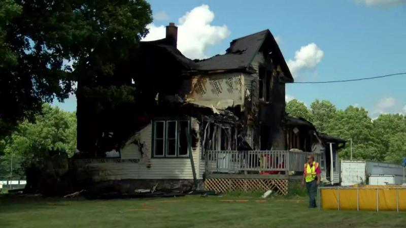 Two adults and four children were killed in the early-morning fire Tuesday in Pickerel.