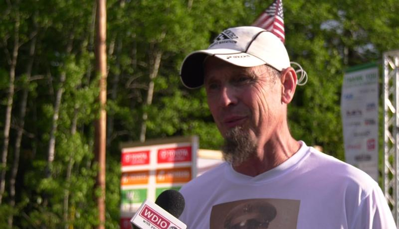 James Engel of Wakefield ran in his 32nd Grandma's Marathon on Saturday, and his 200th marathon overall.