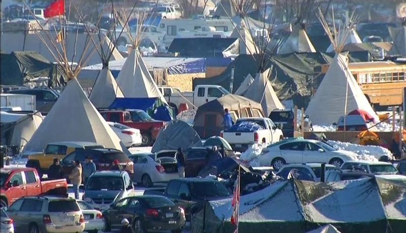 North Dakota officials want the federal government to help cover the cost of policing pipeline protests.
