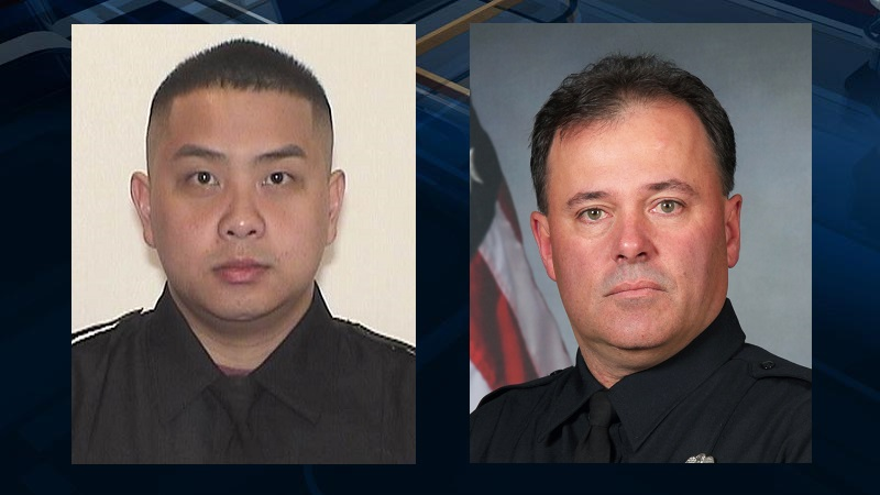 Milwaukee Officer Kou Her and Racine Officer John Hetland died in separate off-duty incidents.
