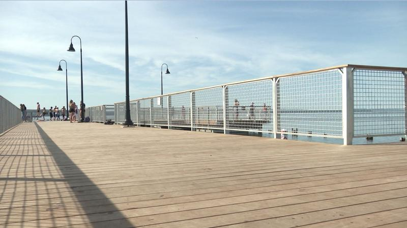 After nearly 6 years of planning, the new Bayview Pier is now officially complete.