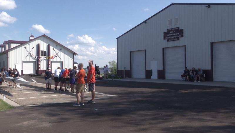The Duluth Rowing Club showed off its' new facility to the public.