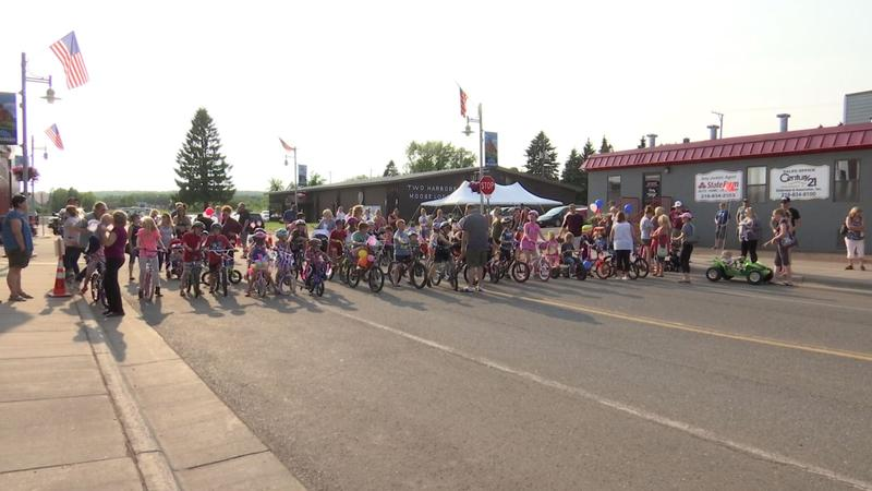 Kiddie Parade kicked off the festivities for Two Harbors Heritage Days
