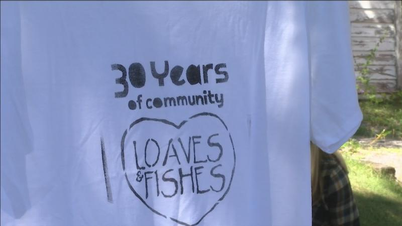 Loaves and Fishes celebrated their 30th�year�with their annual family-friendly block party held on Saturday in Duluth.
