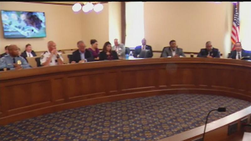 A panel appointed to study officer-involved shootings met Saturday at the state capitol.