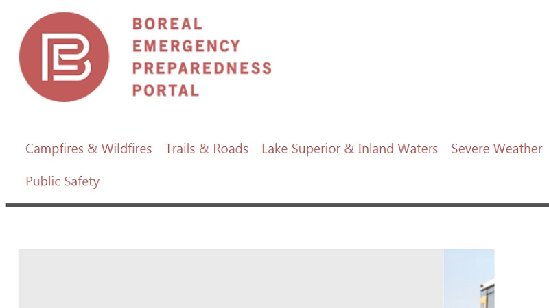 The Boreal Emergency Preparedness Portal helps people prepare for visits or activities up the Shore.