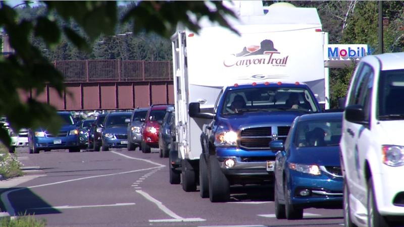 Labor Day Weekend is officially upon us and the roads were steady with traffic Friday as people traveled to kick off the unofficial end of summer