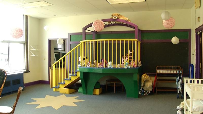 The nonprofit hopes to open a day care in the building soon.