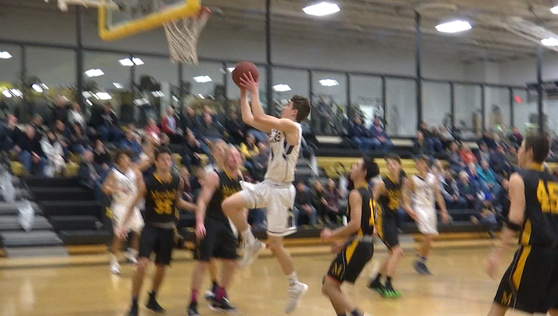 Peter Soumis of Hermantown has verbally committed to UMD for basketball.
