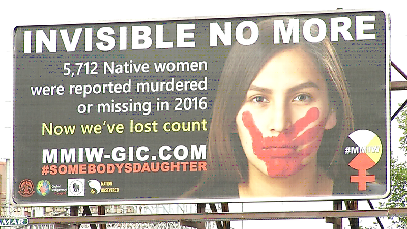 Vigil Honors Missing and Murdered Indigenous Women