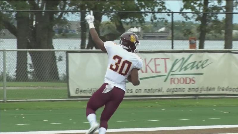 No. 13 UMD scored 42 unanswered points in their 42-7 victory over Bemidji State Saturday.