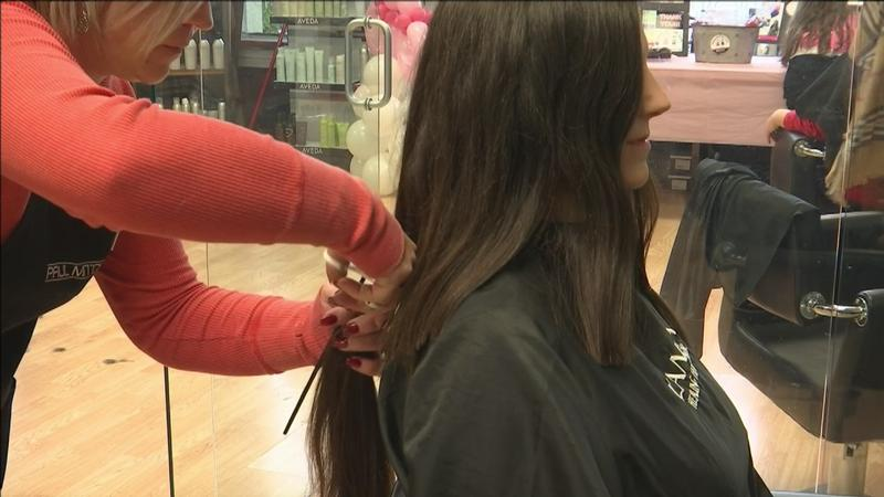Superior's Serenity Spa & Salon held a Cut-A-Thon to collect donations of hair for an organization in need.