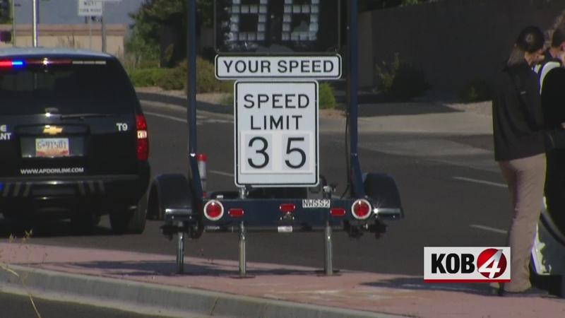 Wheels Stolen from New Mexico Speed Limit Monitoring Device