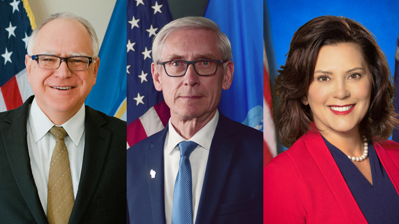 Democratic Governors In Midwest Understated On Impeachment Www Wdio Com