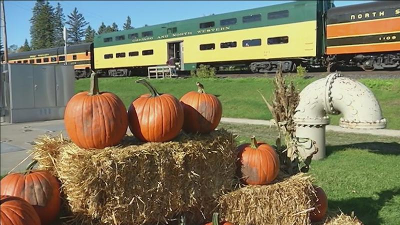 The Great Pumpkin Train runs for a limited time this weekend.