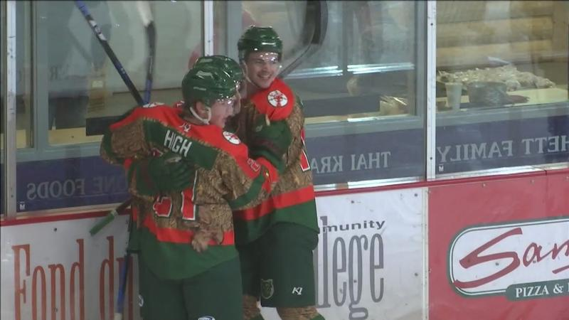 The Minnesota Wilderness fell 4-3 in overtime to the Aberdeen Wings Friday.