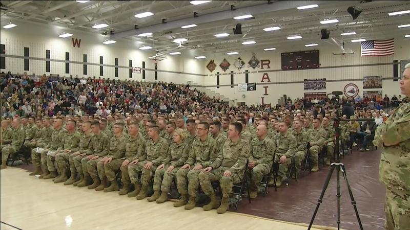 Wisconsinites Unite for 829th Soldier Sendoff Ceremony