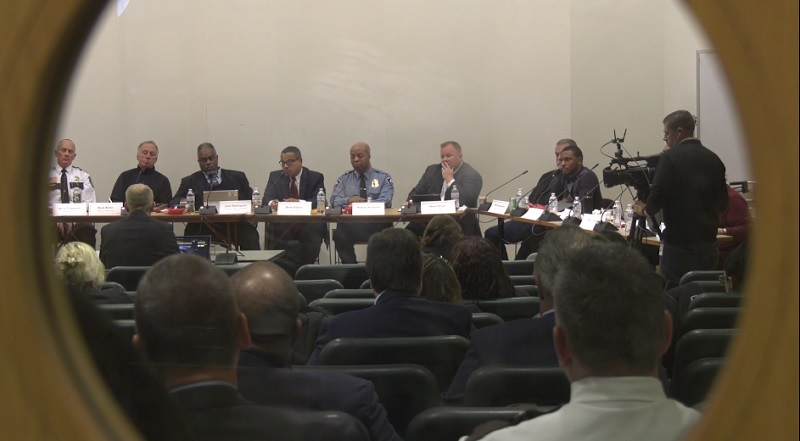 The 16 member panel convened by the MN Attorney General met in Cloquet to talk about reducing deadly force encounters