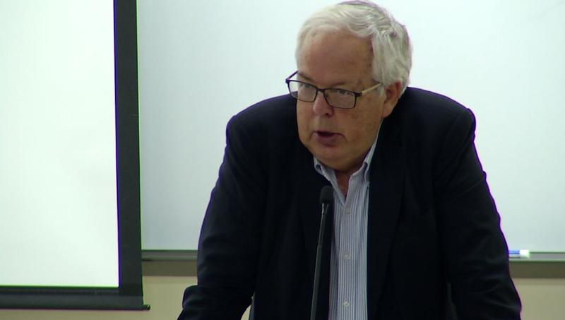 Former Norwegian ambassador of Saudi Arabia and Syria Rolf Hansen spoke at UMD about the challenges facing the Middle East.�