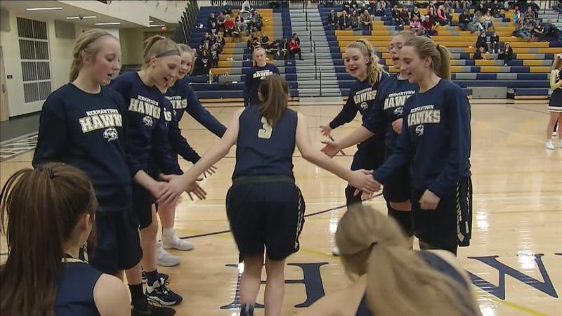 Hermantown improves to 4-0 on the season.