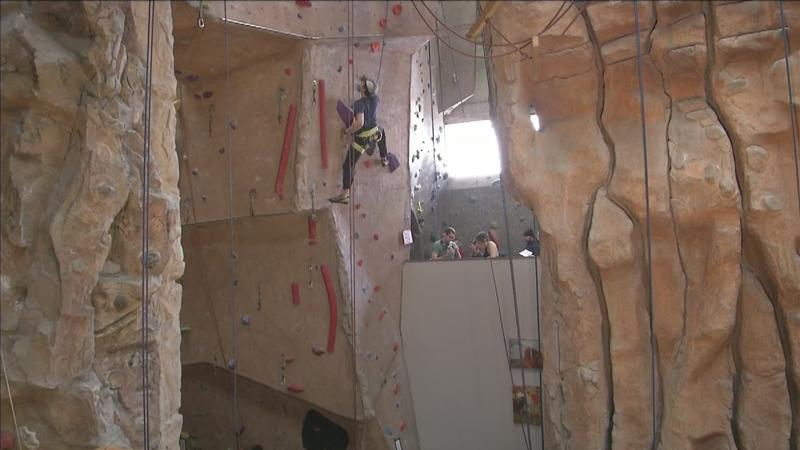 Vertical Endeavors hosted their 17th annual rock climbing competition.